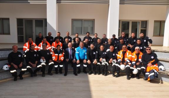Değirmenlik Belediyesi AFAD ekibi eğitimden geçti