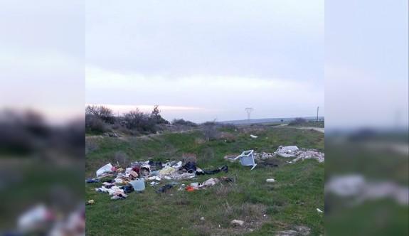 Doğayı bu şekilde çöplük haline döndürmeyelim