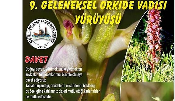 Geleneksel Orkide Gözlem Yürüyüşü ertelendi