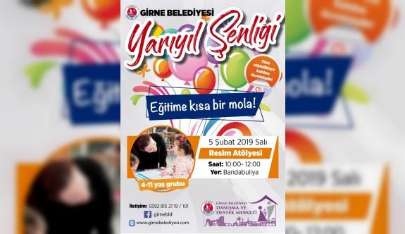 Girne Belediyesi yarıyıl şenliği yarın başlıyor