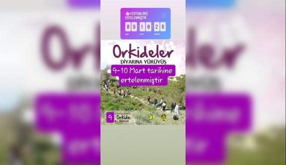 Hisarköy Orkide Festivali ertelendi