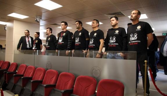 KTOEÖS'ten Meclis'te 'Göç Yasası' protestosu