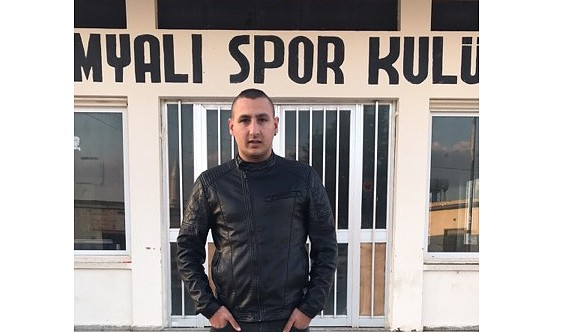 Kumyalı'da başkan Ağcabay