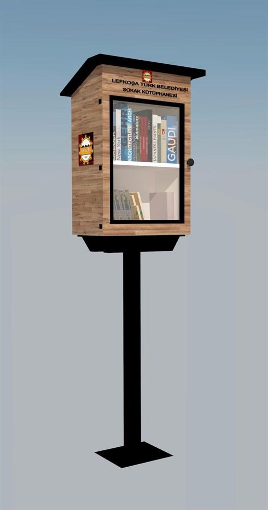Lefkoşa'ya sokak kütüphaneleri
