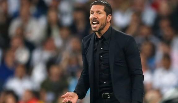 Simeone 2022'ye kadar Atletico Madrid'de
