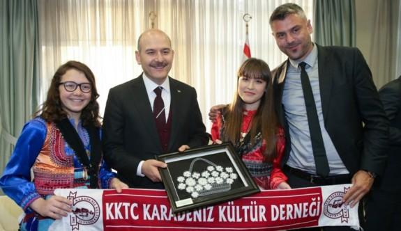 Soylu, Karadeniz Kültür Derneği ile görüştü