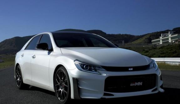 Toyota'nın yeni sportifi: Mark X GRMN