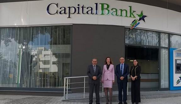 CapitalBank 19'uncu şubesini Gönyeli'de hizmete açtı