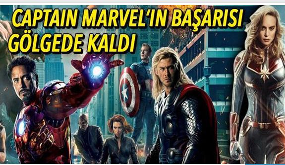 Captain Marvel'in gişedeki başarısı gölgede kaldı
