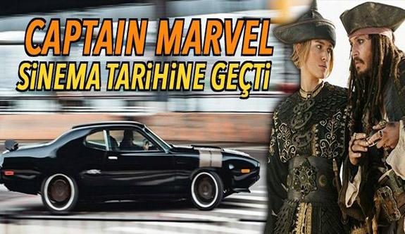 Captain Marvel sinema tarihine geçti (Tüm zamanlaren en iyi açılış rakamları)