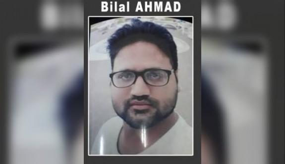 Cinayet zanlılarından Bilal Ahmad yakalandı