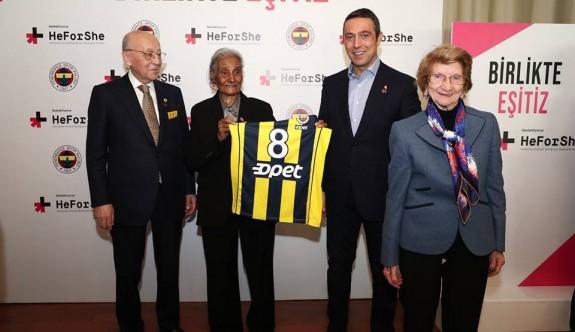 Fenerbahçe'den, Berkalp'e büyük onur