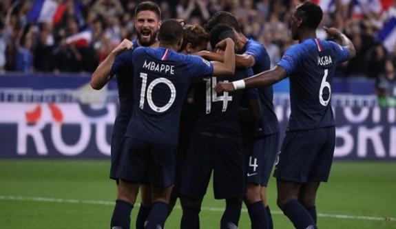 Fransa'nın aday kadrosu belli oldu