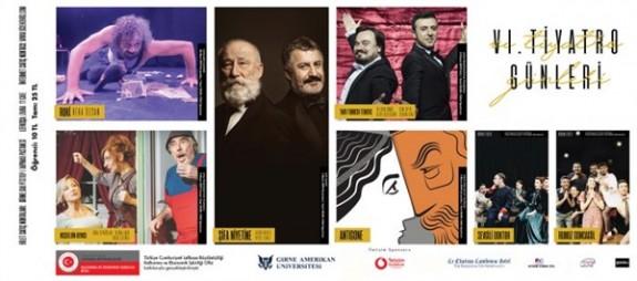 """""""GAÜ 6. Tiyatro Günleri"""" başlıyor"""