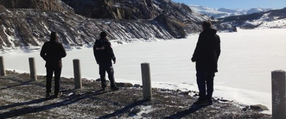 Göletteki sızıntı 12 evi tahliye ettirdi