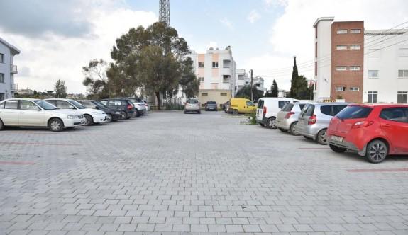 Gönyeli Belediye Bulvarı'na 227 kapasiteli araç park yeri
