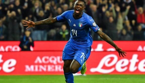 İtalya'nın yeni umudu: Moise Kean