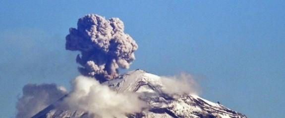Meksika'da yanardağ patlaması