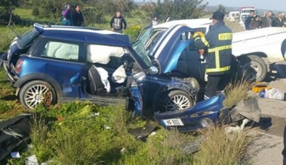 Ölümlü kazada hayatını kaybedenlerin isimleri belirlendi