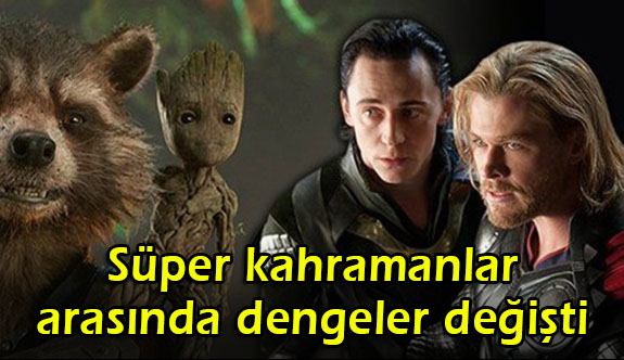 Süper kahramanlar arasında dengeler değişti (Marvel filmlerinin açılış rakamları)