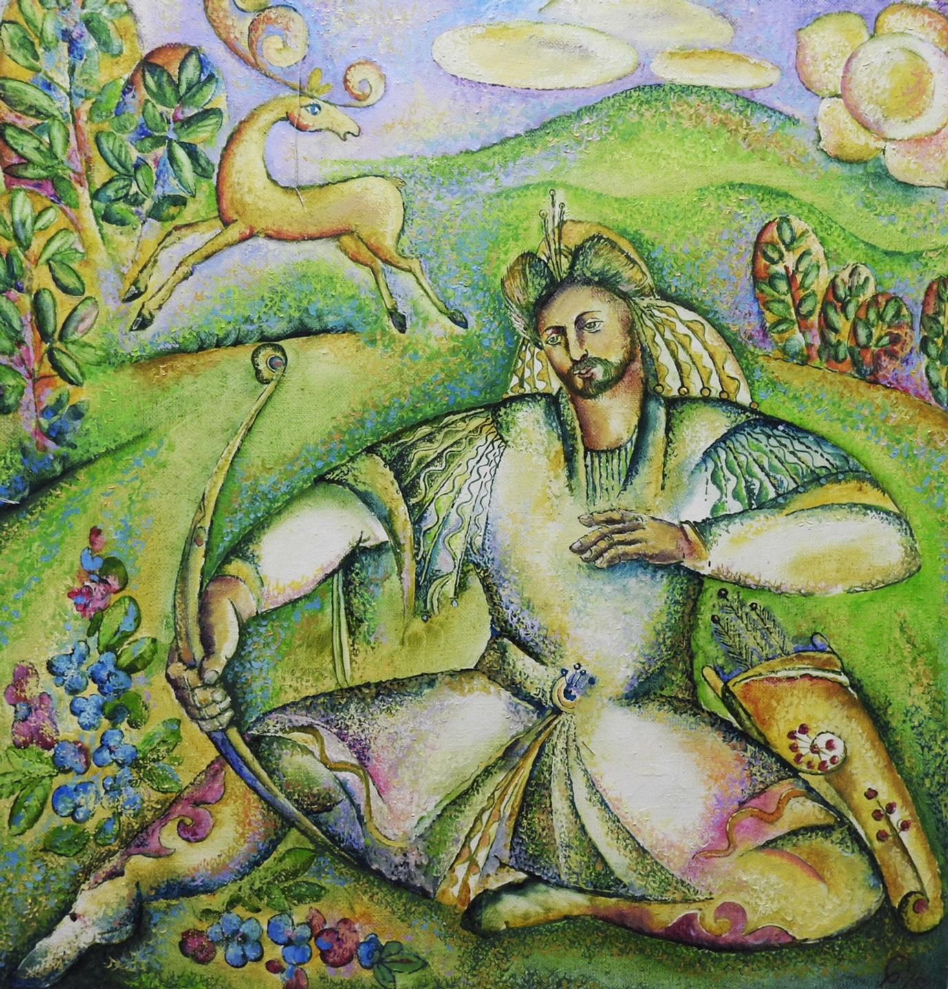 Tatar ressamların ulusal temalarını yansıttığı eserleri sergilenecek