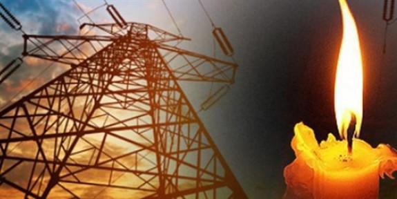 Yarın bazı bölgelerde elektrik kesintisi var