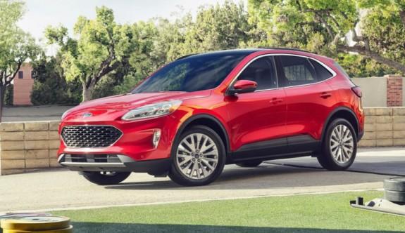 2020 yeni kasa Ford Escape görücüye çıktı