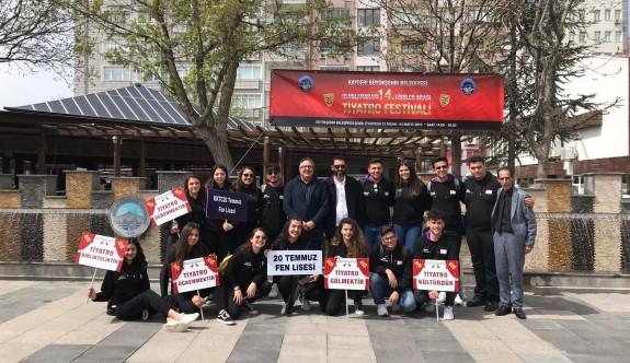 20 Temmuz öğrencilerine Kayseri'de büyük ilgi