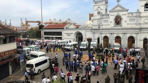 Afrika'da bir kiliseye terör saldırısı