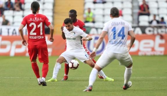 Antalyaspor ile Erzurumspor yenişemedi