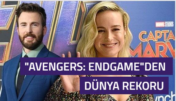 Avengers: Endgame dünyada gişe açılış rekoru kırdı
