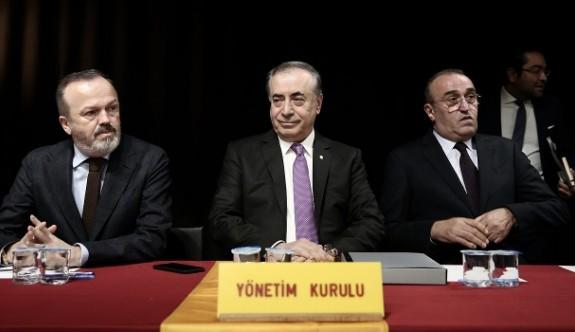 Galatasaray MHK Başkanı ile görüştü