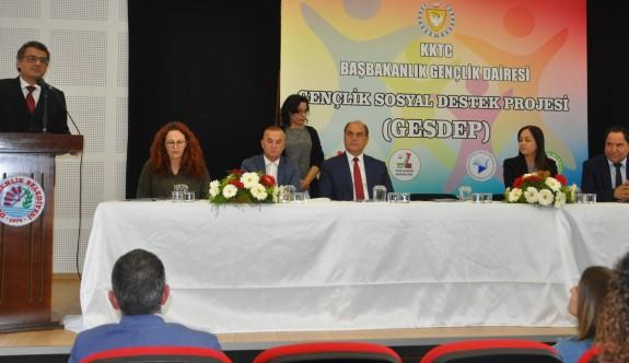 """""""Gençlik Sosyal Destek Projesi"""" Değirmenlik'te tanıtıldı"""