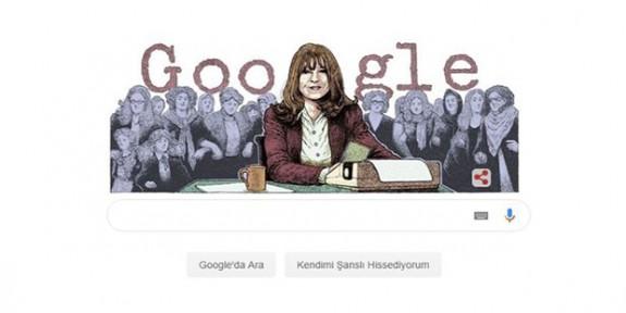 Google'dan Duygu Asena'ya özel Doodle