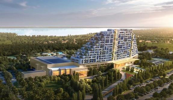 Güney Kıbrıs'ta resort kumarhane otelin inşaatı başlıyor