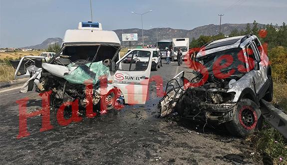 Kazada yaralananların kimlikleri belli oldu