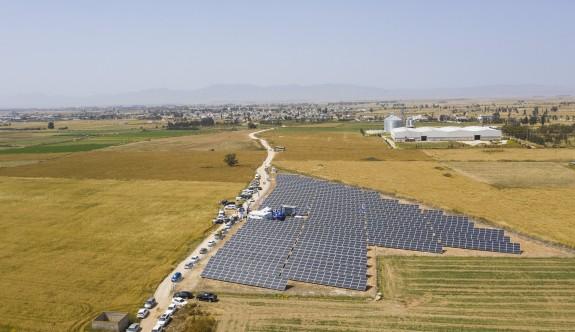 Kuzey Kıbrıs Turkcell'in Vadli'deki güneş enerji santrali hizmette