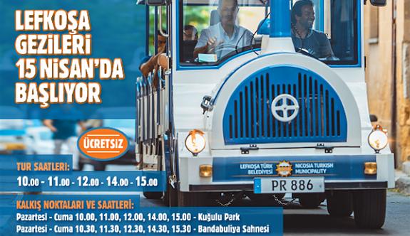 Lefkoşa Gezi Treni Turları ücretsiz oluyor