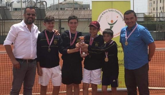 Liselerde tenisin birincileri, TMK ve YDK
