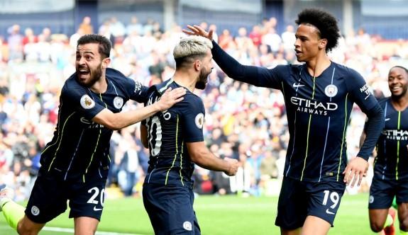 Manchester City gol çizgisine minnettar