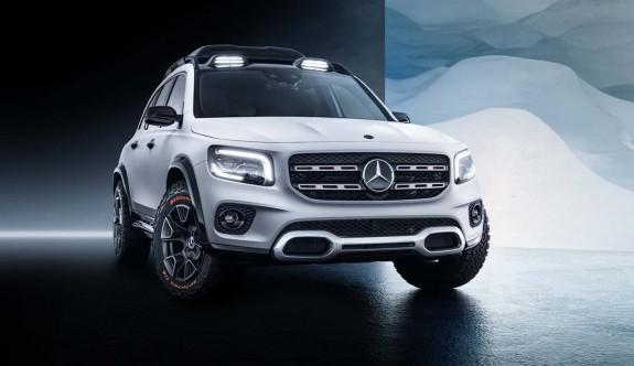 Mecedes Benz'den yeni SUV: GLB Concept