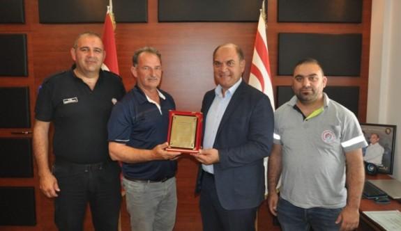 Mesarya Darts Birliği, Karavezirler'i ziyaret etti