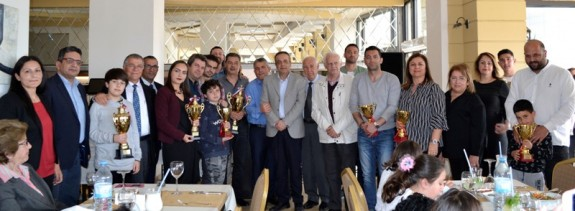 Satranççılar ödüllendirildiler