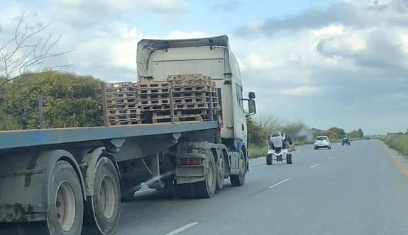 Trafikte böyle sorumsuzluk olmamalı