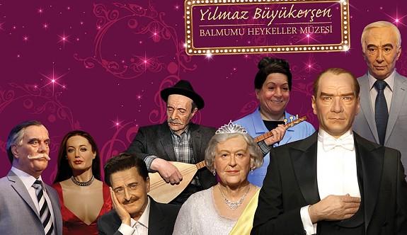 Türkiye'nin ilk 'Balmumu Heykeller Müzesi'