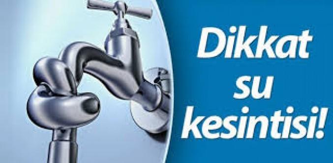 Ülke genelinde su kesintisi yapılıyor
