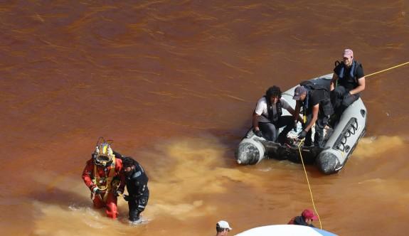 70 metre derinlikte ceset arayışı