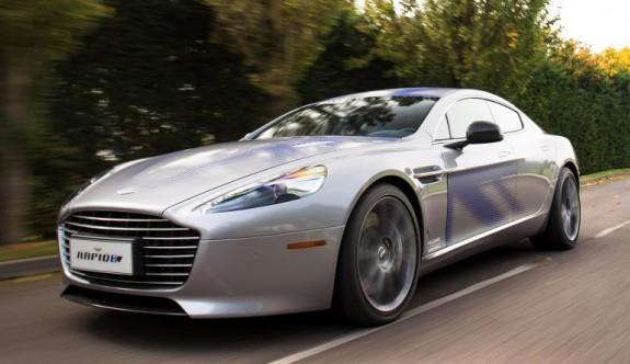 Aston Martin'in ilk elektriklisi hazır