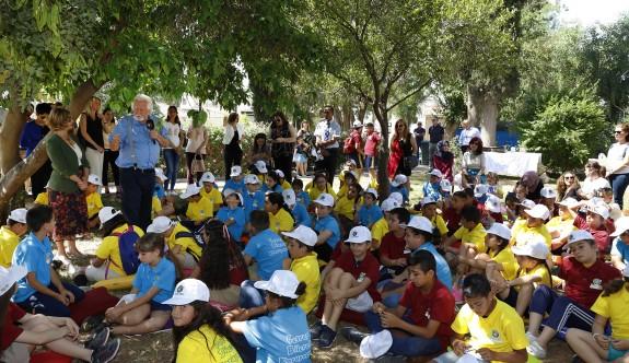 Cumhurbaşkanlığı'nda, çocuklarla çevre etkinliği