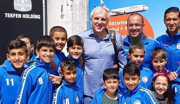Dikmenli minikler, Fenerbahçeli devlerle buluştu